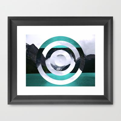Lake Louise Framed Art Print by Fimbis | Society6