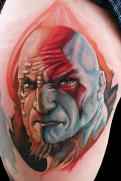 501.Frank-Tattoo.god-of-war-demone.jpg (400×600)