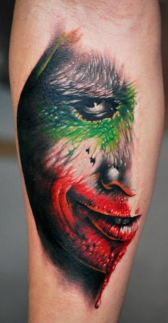 _687.George-Mavridis-Tattoo.joker.jpg (334×640)