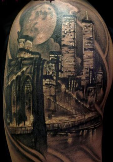 _371.Billi Vegas Tattoo.new-york-città-palazzi.jpg (363×516)