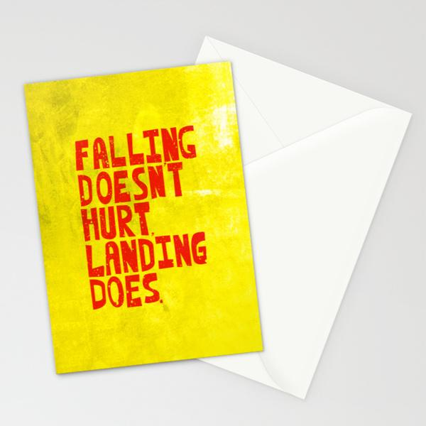 Falling Stationery Cards by Fimbis | Society6