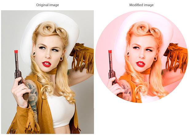 Image styling with canvas | Webdesigner Depot