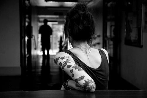 beautiful, black and white, fashion, girl, photography - inspiring picture