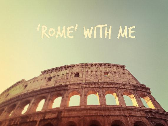 Colosseum Fine Art Photography Roman Architecture by happeemonkee