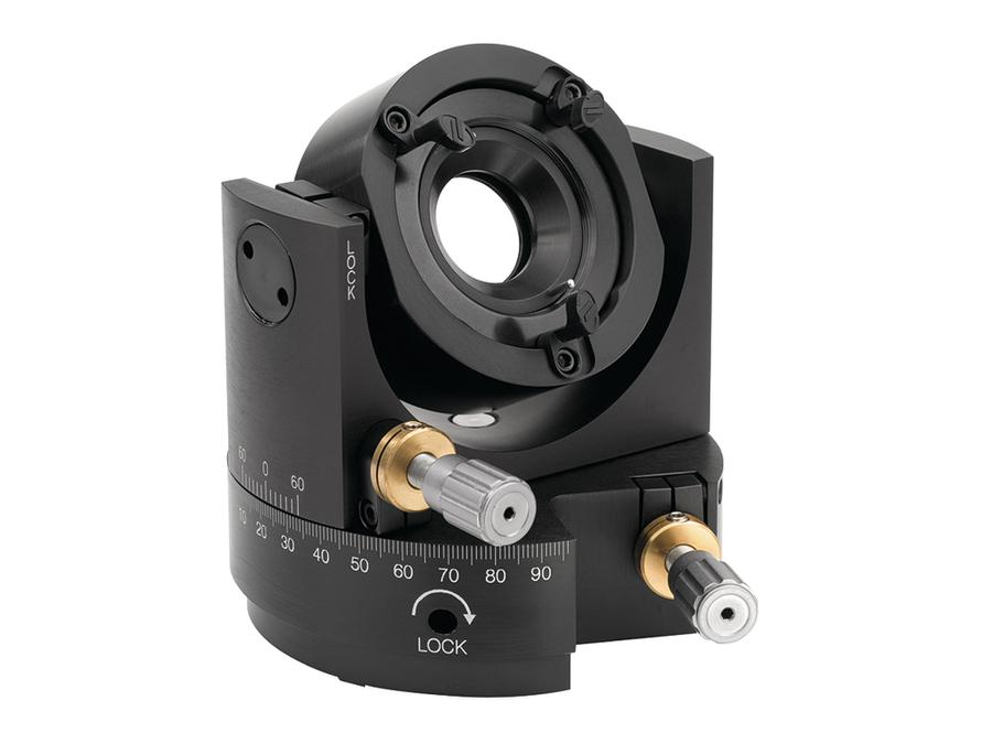 Precision Gimbal Optic Mount, 2.0 in. Diameter, Inc. 1.0 in Adapter