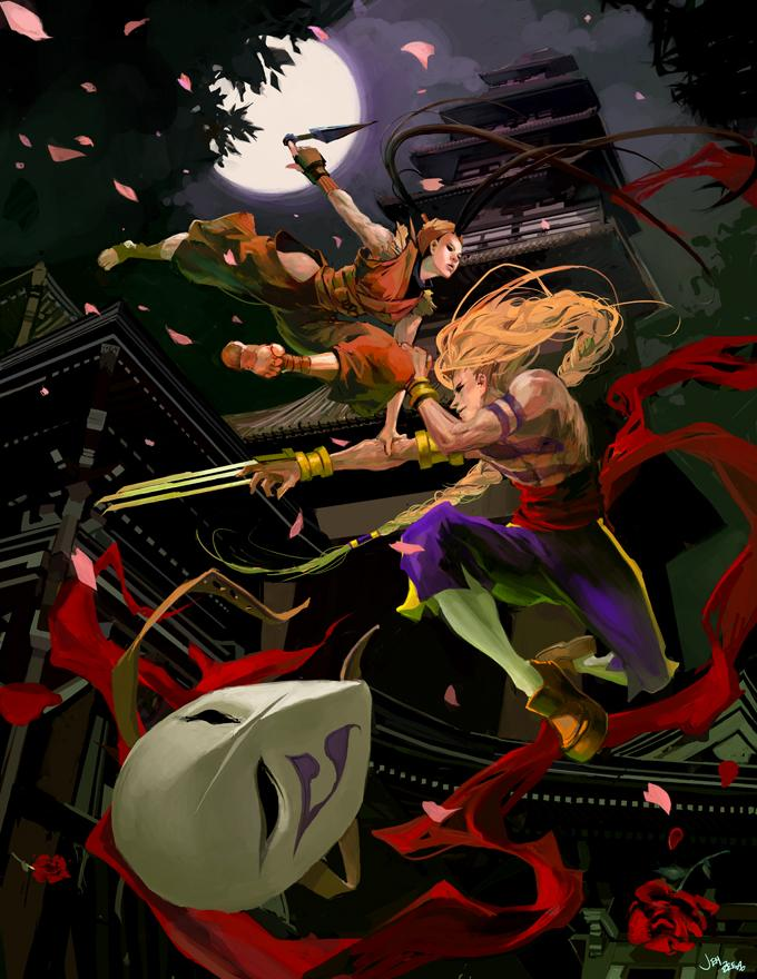sf_tribute___ibuki_vs__vega_by_jenzee1.jpg (680×880)