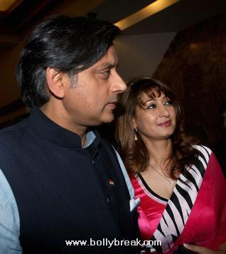Sunanda Pushkar, Shahshi Tharoor Pics