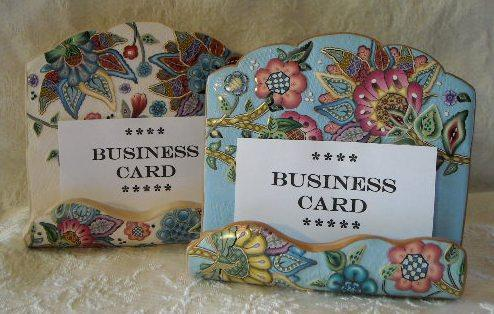 Business Card Display / Holder - ??????? ??????? | Flickr - Photo Sharing!