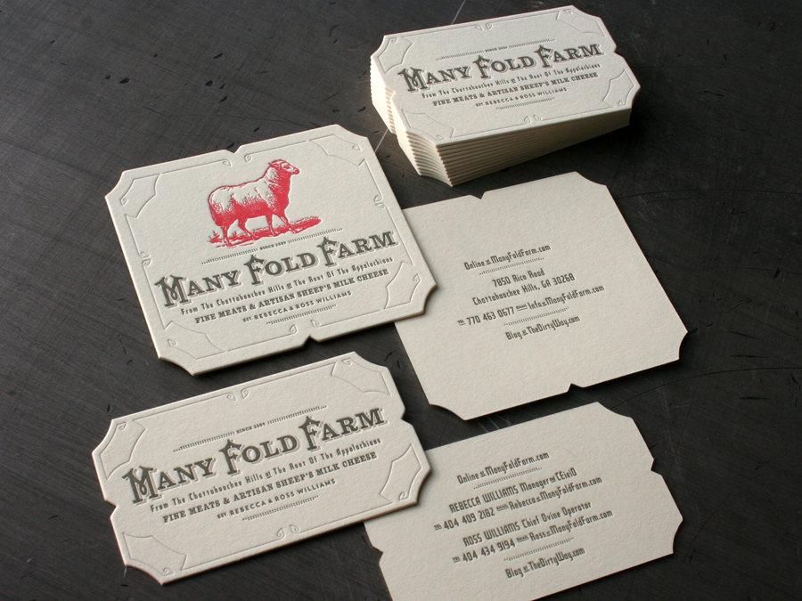 Many Fold Farm Identity | Studio On Fire