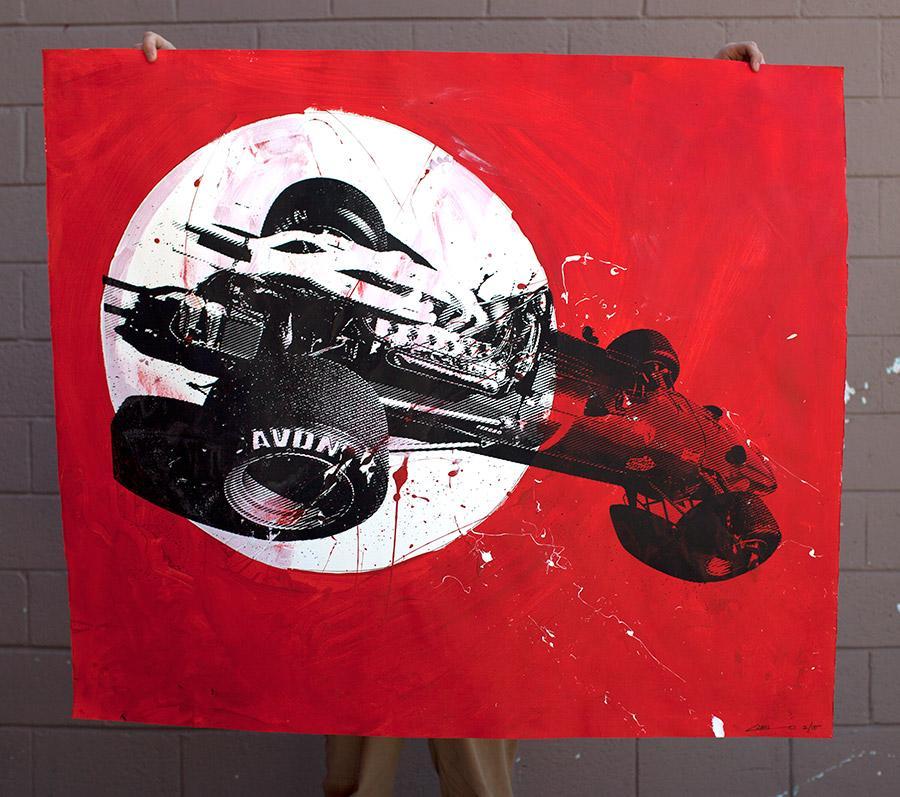 Camilo Pardo - Ferrari 2 of 15 | 1xRUN Limited Edition Time-Released Art