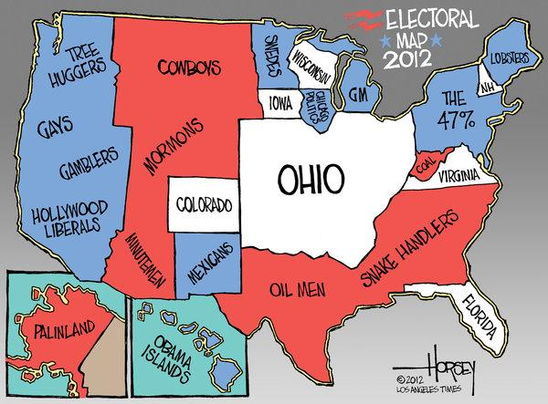 Campaign 2012: All voters matter, but Ohio voters matter the most - latimes.com