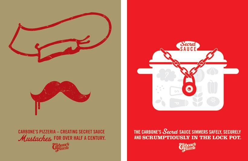 Carbone's Pizzeria | Sussner Design Company