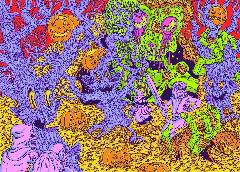 Juxtapoz Magazine - Pardee's Picks: The Works of Jon Vermilyea   Current