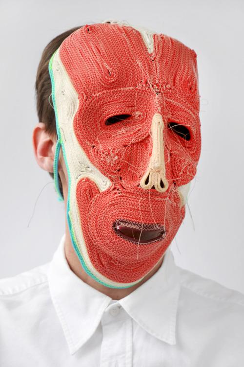Freaky Fauna's Tumblr - Mask by Bertjan Pot. Found here. All masks by...