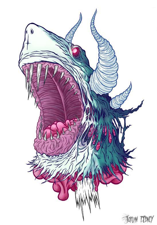 Hardcore Illustrations by Eye Rupture | Abduzeedo Design Inspiration & Tutorials