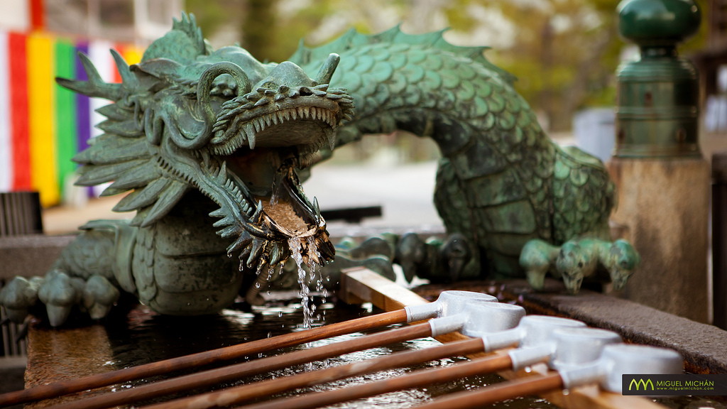 All sizes | Dragon Fountain : Kiyomizudera, Kyoto, Japan / Japón | Flickr - Photo Sharing!