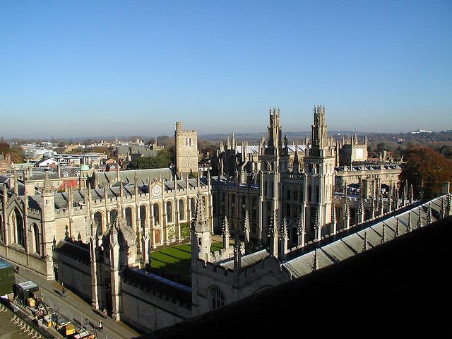 258 - Oxford University buildings from St Mary's Tower | Flickr - Photo Sharing!