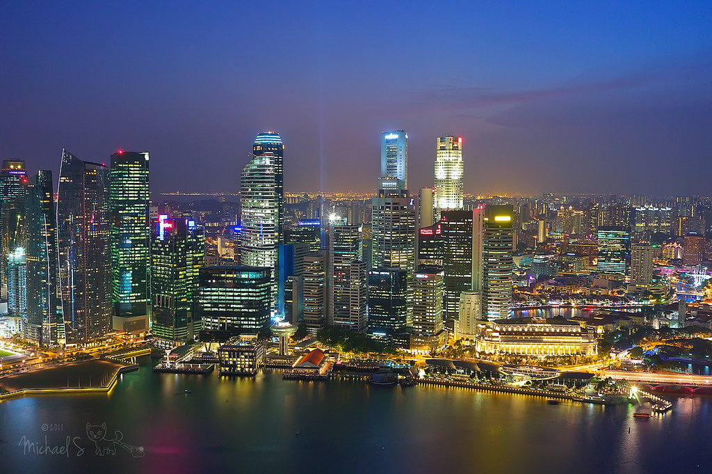 All sizes | Singapore city lights | Flickr - Photo Sharing!
