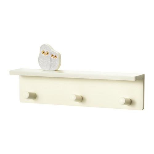 KLÄDE Knob rack with 3 knobs - IKEA