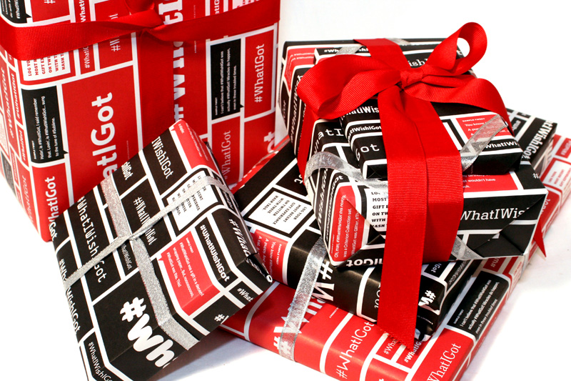 #WhatIWishIGot Wrapping Paper - FPO: For Print Only