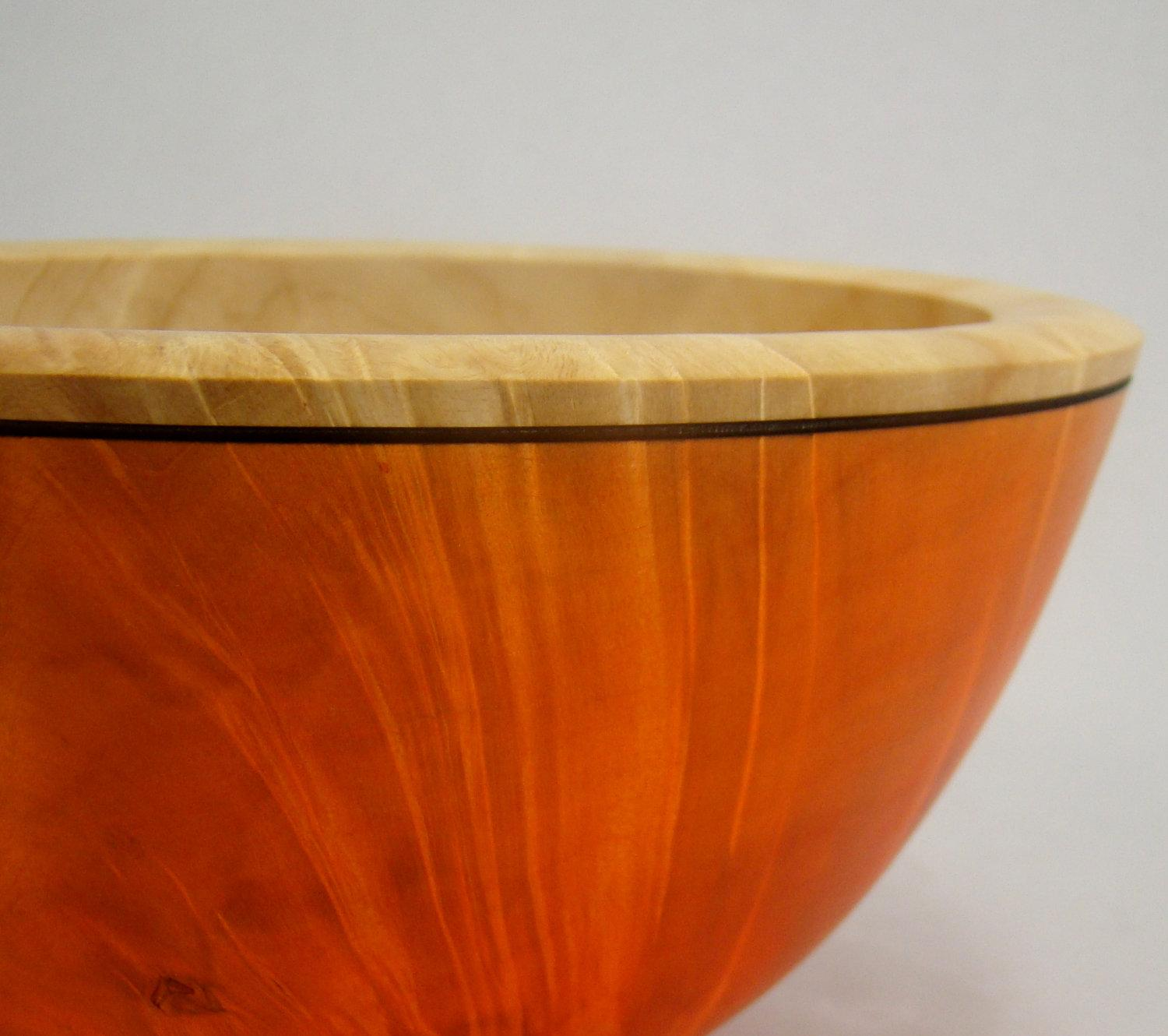 Autumn Uprising Box Elder Bowl by makye77 on Etsy