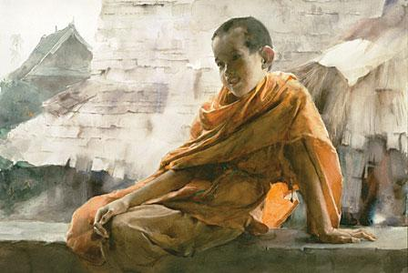 Chinese Watercolor Artist Guan Weixing | Artist's Network