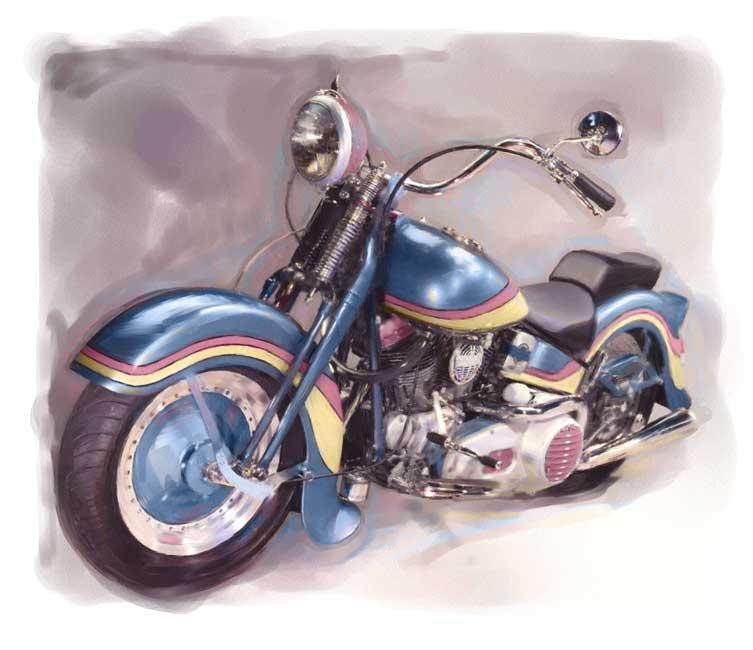 Resultados da Pesquisa de imagens do Google para http://beaudaniels.com/painterly-images/Harley-Davidson.jpg