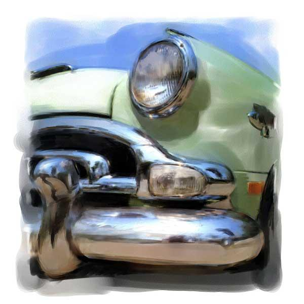 Green car,-beaudaniels.com illustration
