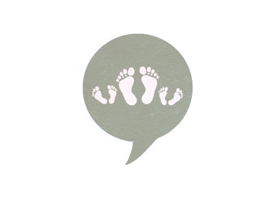 Foot Bubble Logo Variation by Sneh Roy