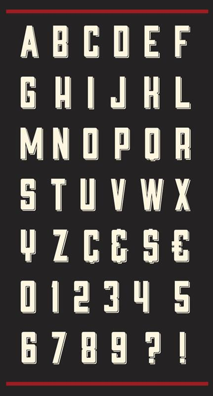 9 Outstanding New Free Fonts | Freebies
