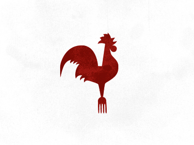 logo concept for Roost, a farm fresh eatery by Shed Labs