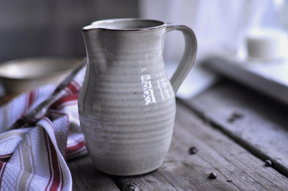 Rustic Cream Pitcher by JustWork on Etsy