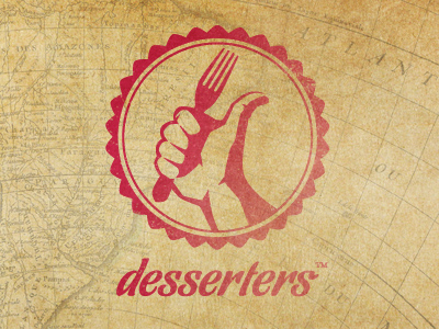 Desserters Logo by Colin Decker