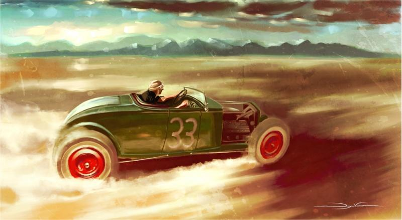 Flotspotting: Dwayne Vance's (Kickstarted) Hot Rod Art Book - Core77