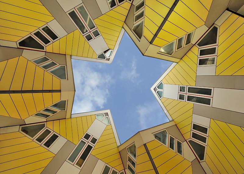 Unusual Project: Cubic Houses in Rotterdam, Netherlands | SmilePanic