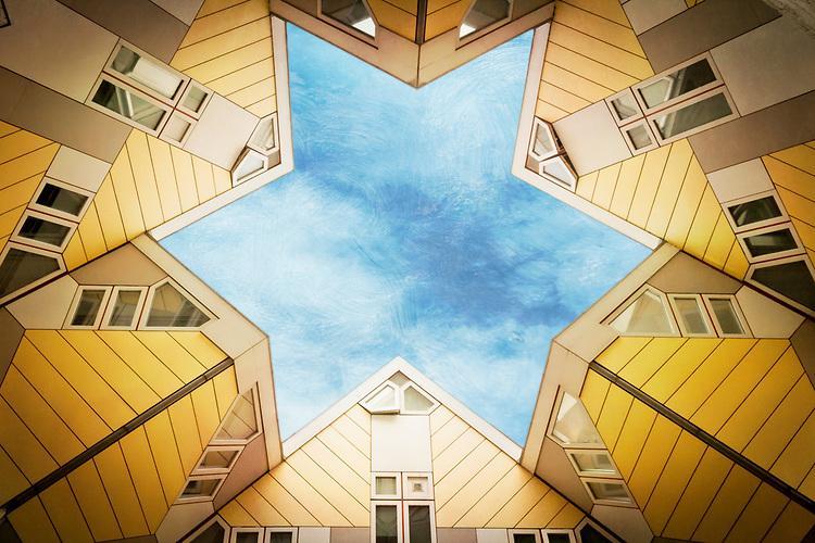 Cube houses Rotterdam | Dirk Wuestenhagen Imagery