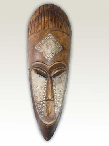 African Mask: King Goro