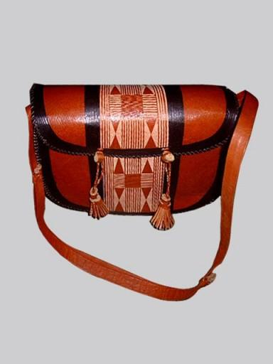 Leather Bag: Designer 3 - AfrikBoutik