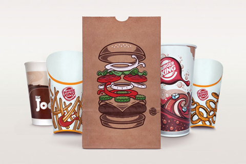 New Burger King Packaging