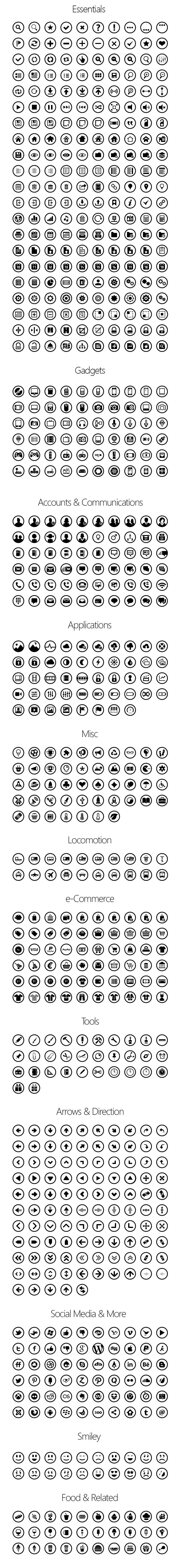 Metricons Pro - Icons for Windows 8 and Windows Phones