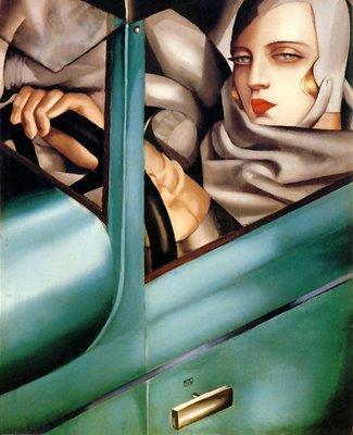 O SÉCULO PRODIGIOSO: Tamara de Lempicka - Art Deco