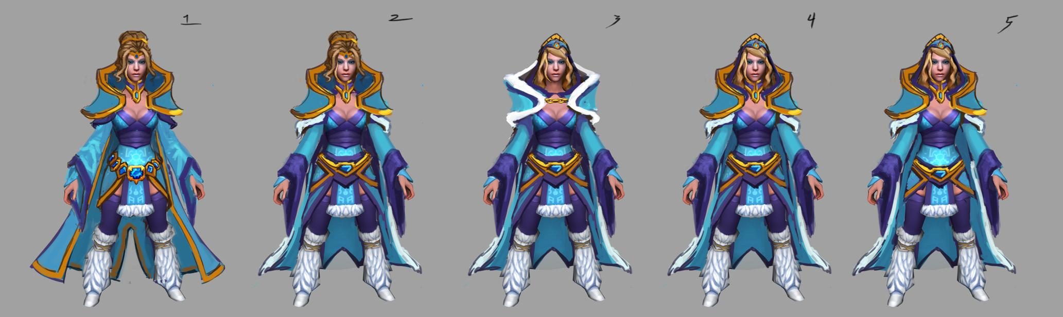 [Dota2] – Crystal Maiden – Ice Queen - Polycount Forum