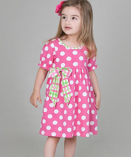 Pink Polka Dot Dress - Infant, Toddler & Girls | Daily deals for moms, babies and kids
