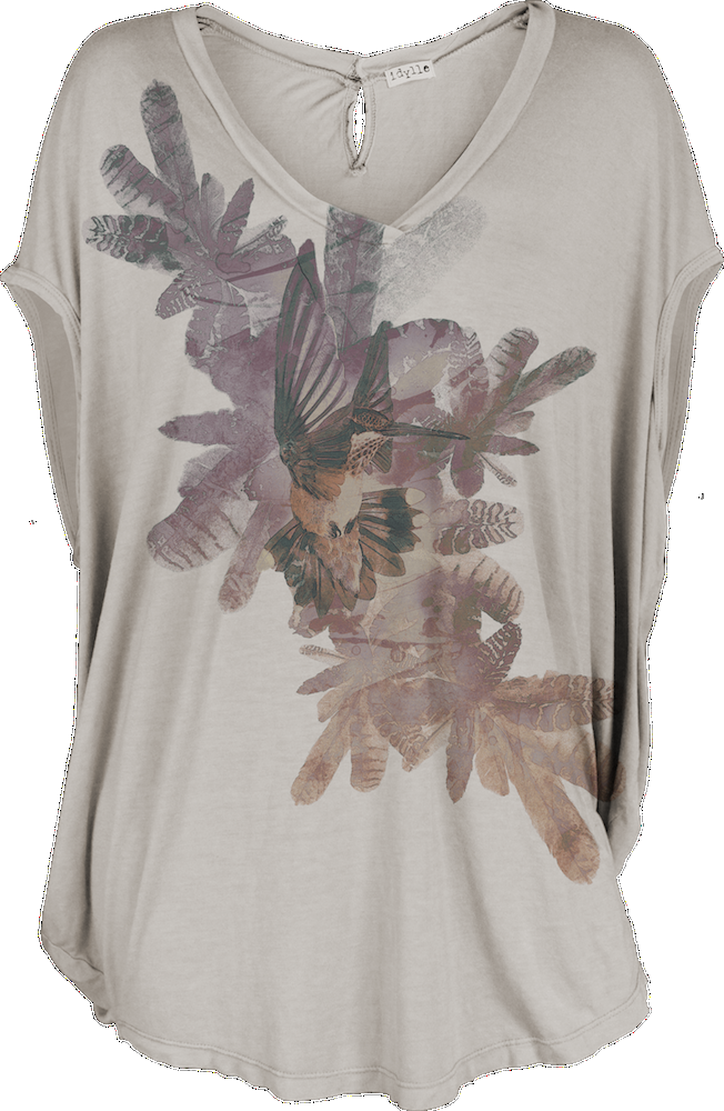 Feather Dancer (Driftwood, Circle Top) — Idylle Clothing