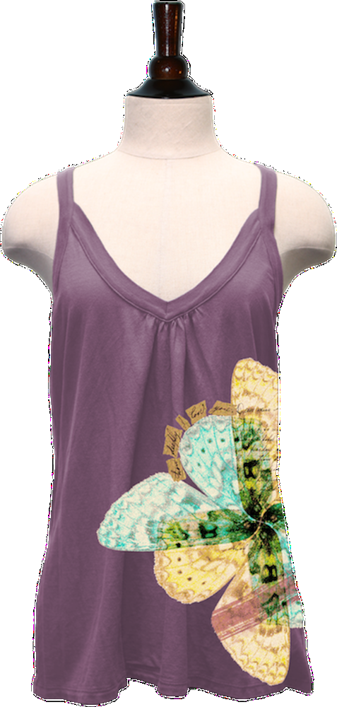 Lost in Translation (Lilac, Modal Strap Tank) — Idylle Clothing