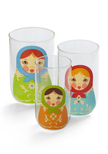 Glassy Ladies Set | Mod Retro Vintage Kitchen | ModCloth.com