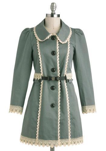 Wishing Well Acquainted Coat | Mod Retro Vintage Coats | ModCloth.com