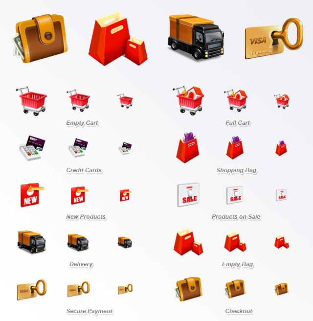 E-Commerce Icon Set | Web Icon Set