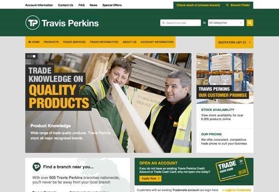 Travis Perkins - Code Computerlove Ltd