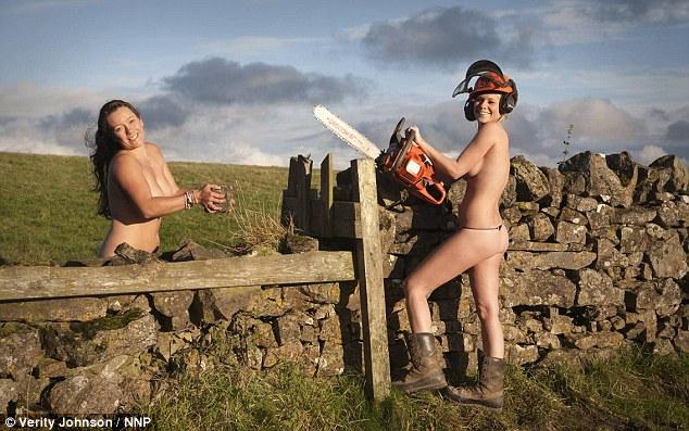 Foxy hunting ladies go 'bareback' for naked calendar with only riding tack to save their modesty | Mail Online